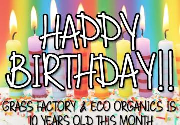Grass Factory Birthday 2016