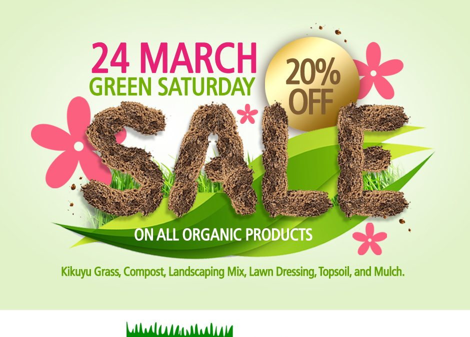 Green Saturday Sale