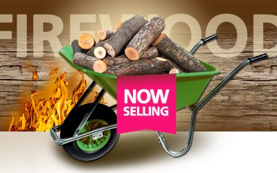 Firewood now available at Grass Factory.