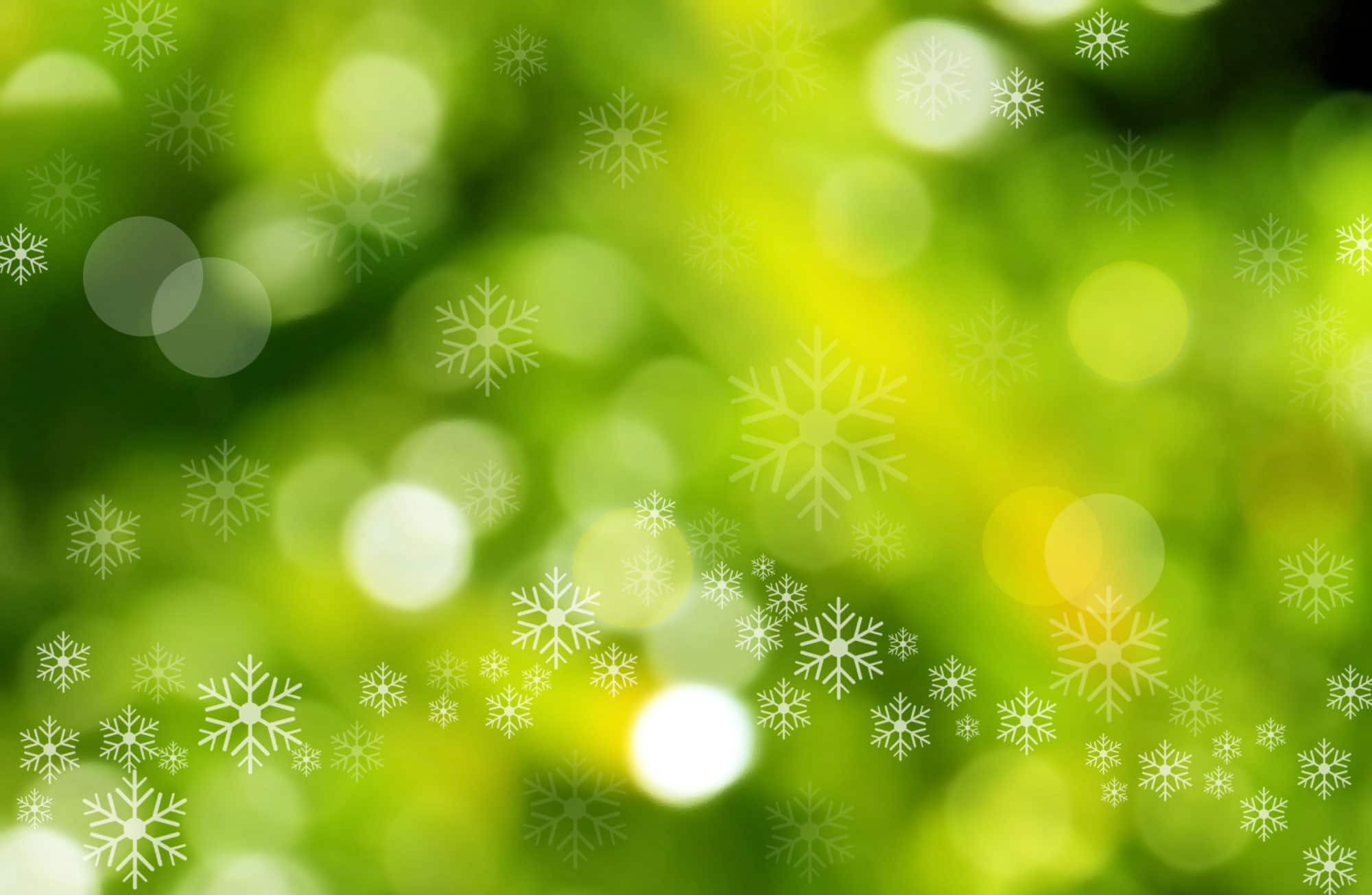 green christmas background
