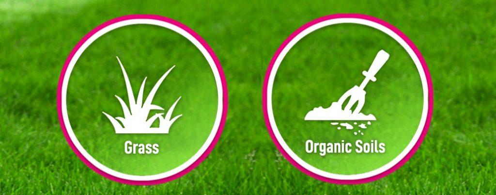Grass Factory Organic Soils