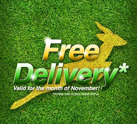 Keeping the winning spirit alive with FREE delivery