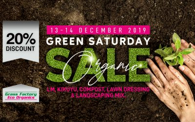 Another Green Saturday 13 & 14 December 2019