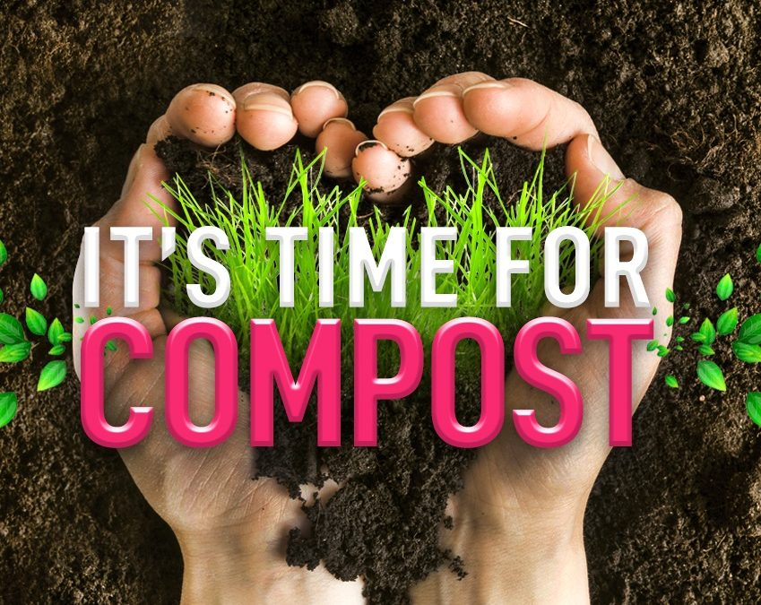 It's time for compost!