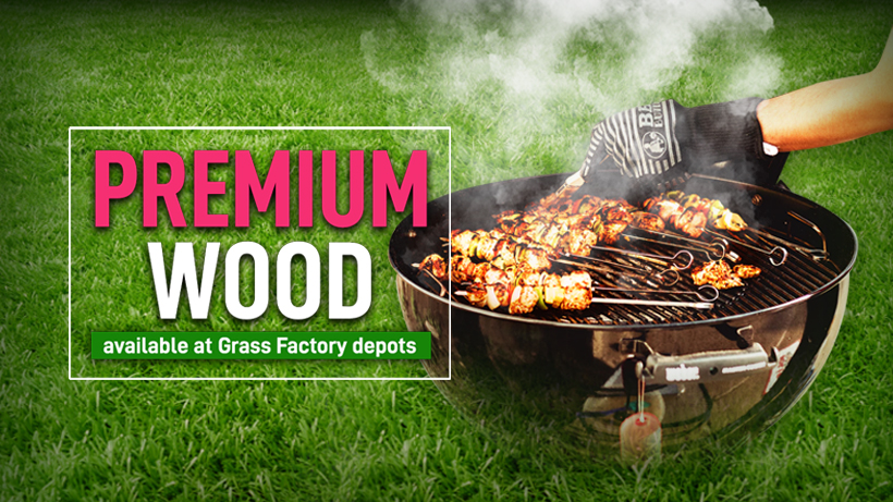 Get your Braai Day wood from Grass Factory
